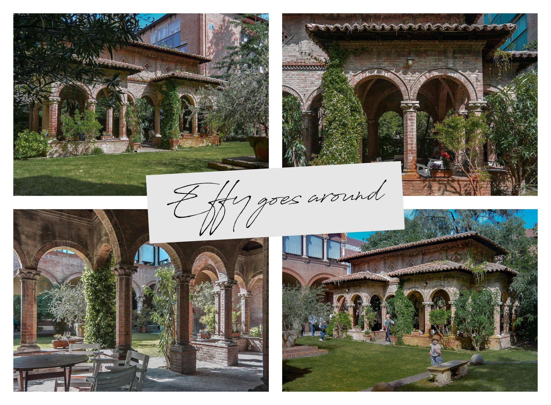 Casa Hirsch a Ferrara per Interno verde