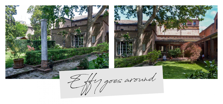 frassino addossato alla casa di via Boccaleone a Ferrara per Interno verde