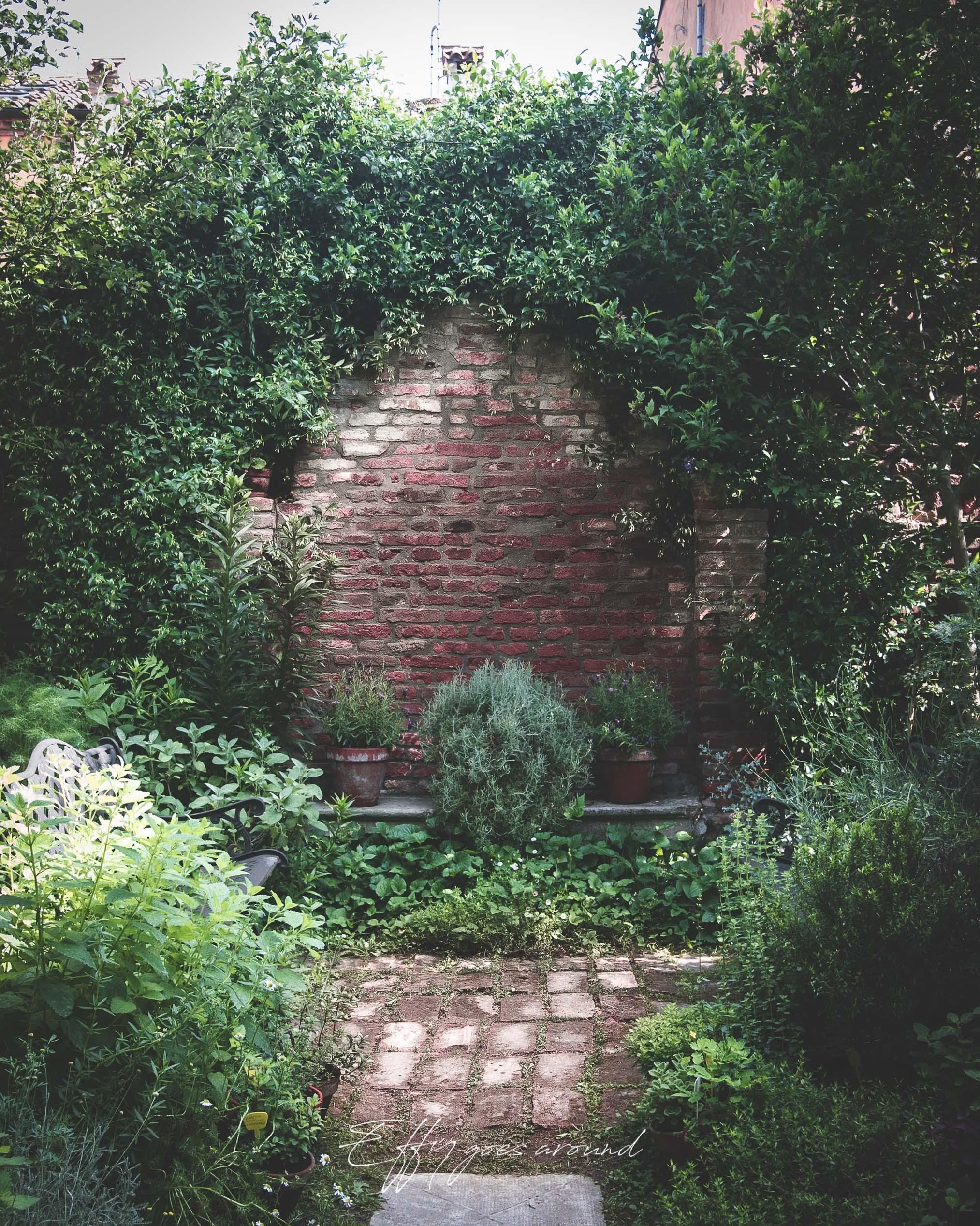 residenza I Gatti Turchini a Ferrara per Interno Verde